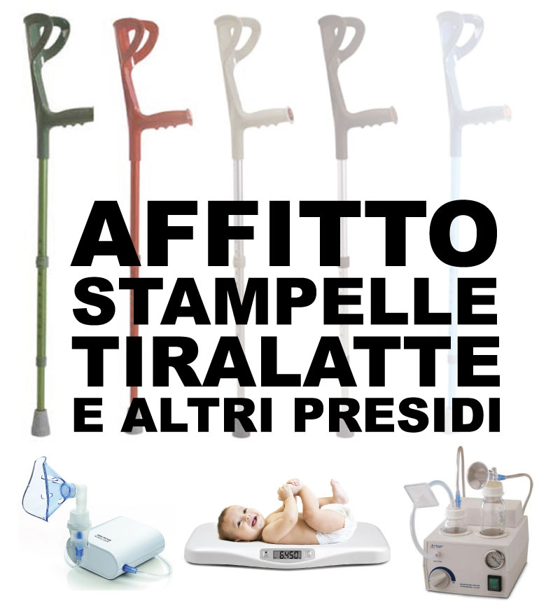affitto stampelle moncalieri